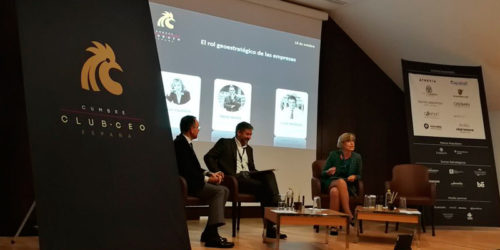 """Núria Vilanova, speaker at the Second Edition of the CEO Summit """"Revaluing values"""""""