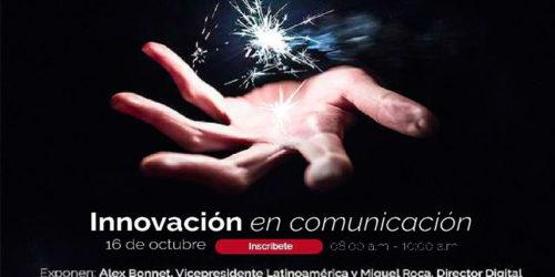 """Alex Bonet y Miguel Roca ponentes del congreso """"Innovación en Comunicación"""" en Perú"""