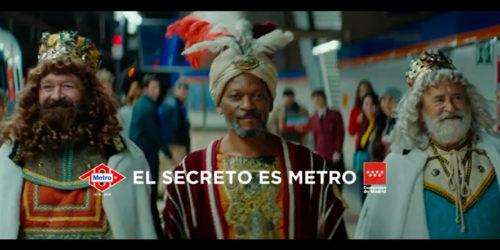 El Secreto es Metro. La nueva campaña de Navidad de ATREVIA para Metro Madrid