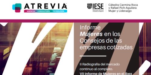 Presentamos el informe 'Mujeres en los Consejos de las empresas cotizadas'