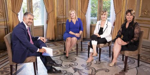 Entrevista a Núria Vilanova sobre Mujeres Empresarias en América, en TVE 24h