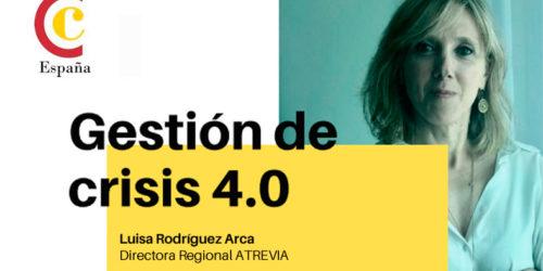 Luisa Rodríguez, directora regional de ATREVIA, charla sobre «Gestión de Crisis 4.0″ en República Dominicana»