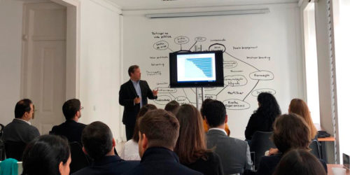 Petit comité com Pedro Tavares, Fundador e CEO da consultora OnStrategy