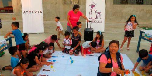 """280 children from El Callao participated in 2019 in the program """"Por una salud de cine"""", supported by ATREVIA"""