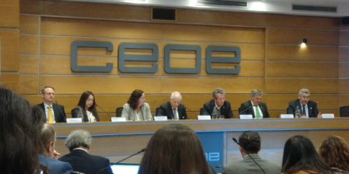 """ATREVIA promotes the Good Governance forum """"Sustainability, investment and profitability"""" held in the CEOE"""