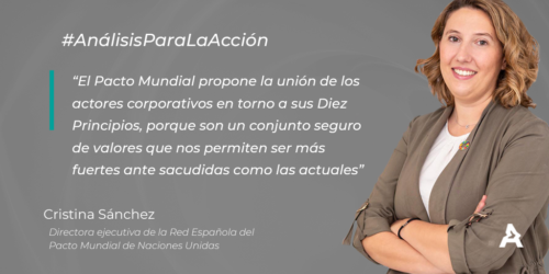 Análisis para la acción: Cristina Sánchez (#ATREVIACovid19)