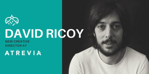 David Ricoy, new creative director at ATREVIA