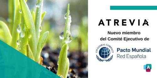 ATREVIA, nuevo miembro del Comité Ejecutivo de la Red Española del Pacto Mundial