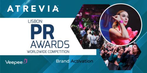 ATREVIA, premiada en los Lisbon PR Awards con su campaña de rebranding para Vente-Privee, ahora Veepee