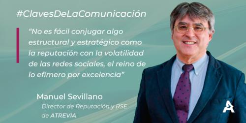 Claves de la comunicación: Manuel Sevillano