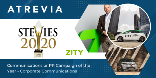 ATREVIA was awarded at the Stevie Awards for its Zity communication campaign following the lockdown