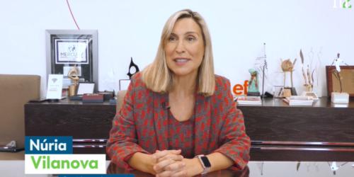 Entrevista a Núria Vilanova en Merca2: «El exceso de estrés inhibe la creatividad»