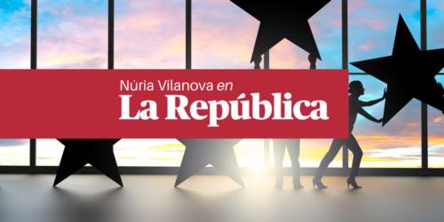 Núria Vilanova, en La República: «Empresa familiar y reputación»