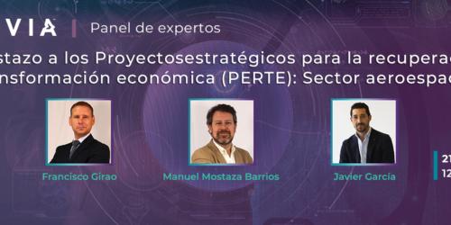 Nuevo webinar (21/10): Un vistazo a los proyectos estratégicos para la recuperación y transformación económica (PERTE): Sector aeroespacial